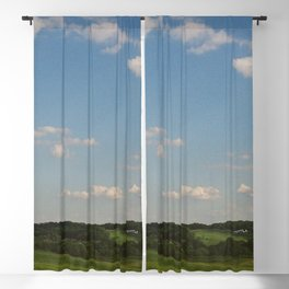 Peaceful Rolling Hills Blackout Curtain