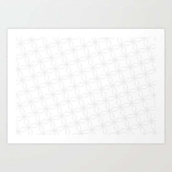 helix pattern#1 Art Print