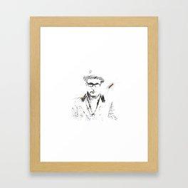 Junkie Framed Art Print