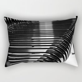 Aligned Rectangular Pillow