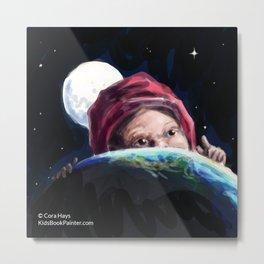 Planet Child Metal Print