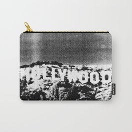 Retro Hipster Hollywood Sign Carry-All Pouch