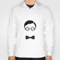 nerd Hoodies featuring Nerd by Mathieu Duparcq