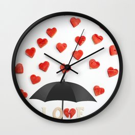 BUT ONLY LOVE CAN BREAK YOUR Wall Clock