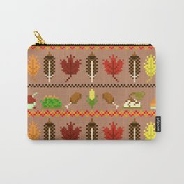 Ugly Thanksgiving Sweater Carry-All Pouch