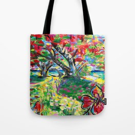 Librarian's Tree Tote Bag
