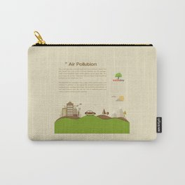 Air Pollution  Carry-All Pouch
