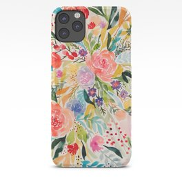 Flower Joy iPhone Case