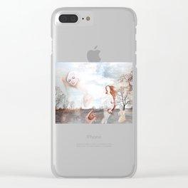 Der Apfel des Paris Clear iPhone Case