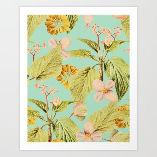 Vintage Summer #society6 #decor #buyart Art Print