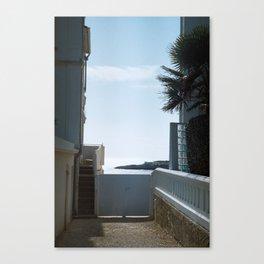 Sea view - Royan, France Canvas Print