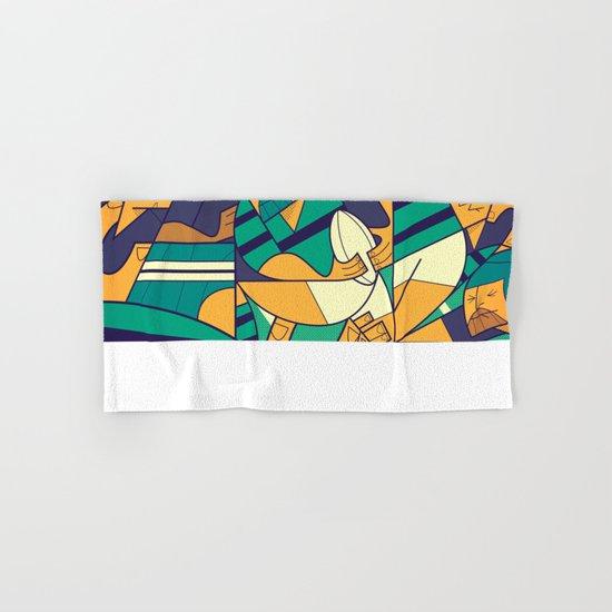 Rugby Hand & Bath Towel