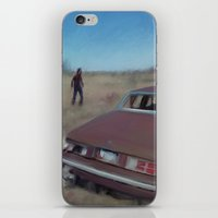 kieren walker iPhone & iPod Skins featuring walker by robotrake