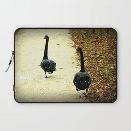 Synchronised Black Swans Laptop Sleeve