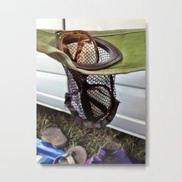 Hippe Reflections at Bonnaroo Metal Print