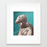 notorious Framed Art Prints featuring Notorious  by Delton Demarest