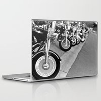 bikes Laptop & iPad Skins featuring Bikes by M. Gold Photography
