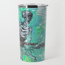 """Death Jam"" by Jordan Halstead Travel Mug"