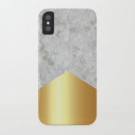 Concrete Arrow Gold #372 iPhone Case