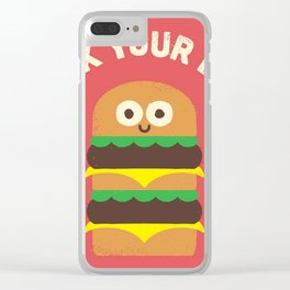 fuck diet Clear iPhone Case