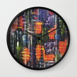 The Place Between The Conscious & The Subconscious Wall Clock
