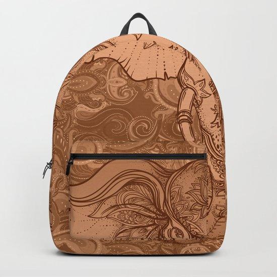 Sepia Ganesha Backpack