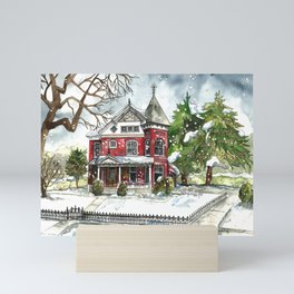 Snowfall Mini Art Print