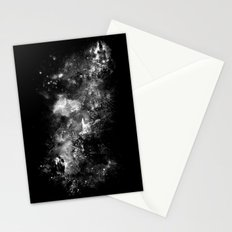 I'll wait for you black white version Stationery Cards