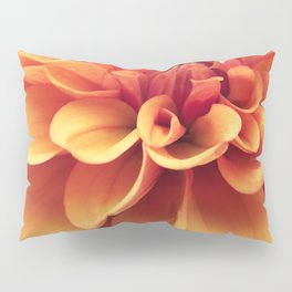 Dahlia design Pillow Sham