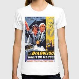 The Diabolical Doctor Mabuse T-shirt