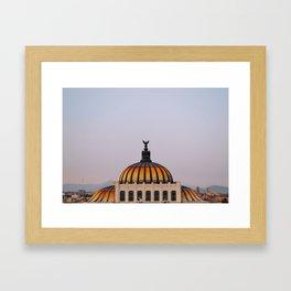 Palacio de Bellas Artes Mexico City Landscape Framed Art Print