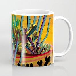 Zen Cactus Garden Coffee Mug