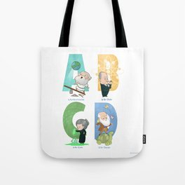 Science ABC Tote Bag