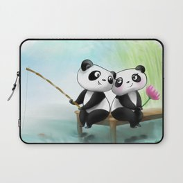 Panda Lovers Laptop Sleeve