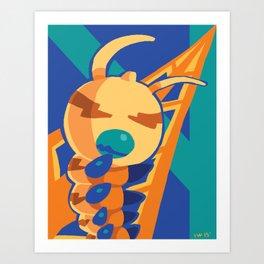 Kunemon Art Print