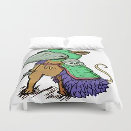 """""""Sir. Bartlegad of the 7th wing"""" Duvet Cover"""