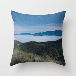 Midnight Hills Throw Pillow