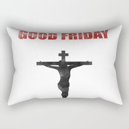 He Died For Our Sins Rectangular Pillow