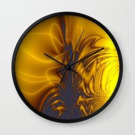 Fractal Portal Wall Clock