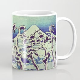 Path in the Snow Coffee Mug