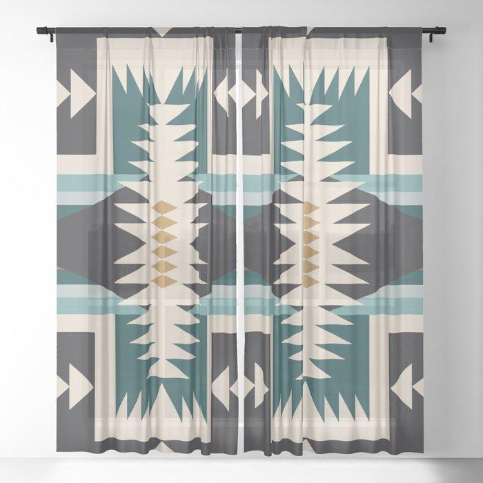 north star Sheer Curtain