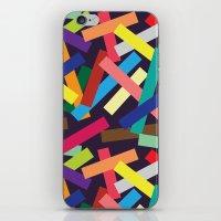 confetti iPhone & iPod Skins featuring Confetti by Joe Van Wetering