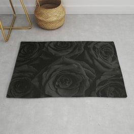 Coal Roses Rug