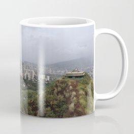 View from Diamondhead mtn in Hawaii Coffee Mug