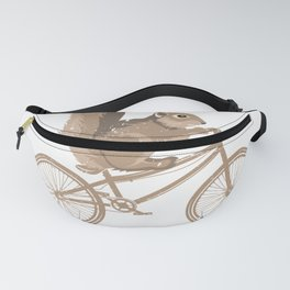 Cycling Squirrel Fanny Pack