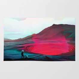 Volcanic Pit Rug