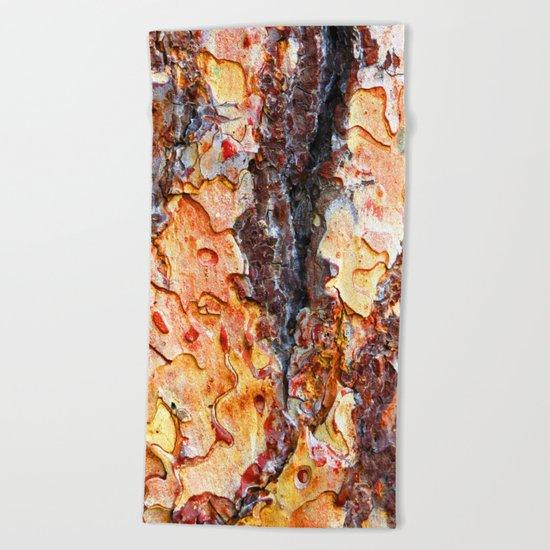 Bark in Motion Beach Towel
