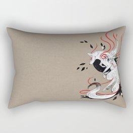 OKAMI RIBBONS Rectangular Pillow