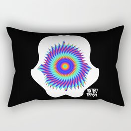 Psychedelic jaws Rectangular Pillow