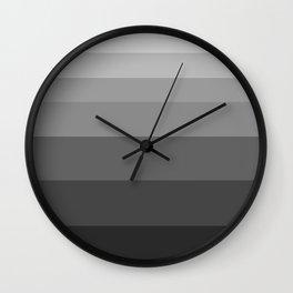 Shade of Grey. Wall Clock